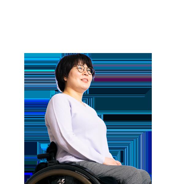高橋 宏美 2013年 中途入社(障がい者採用)